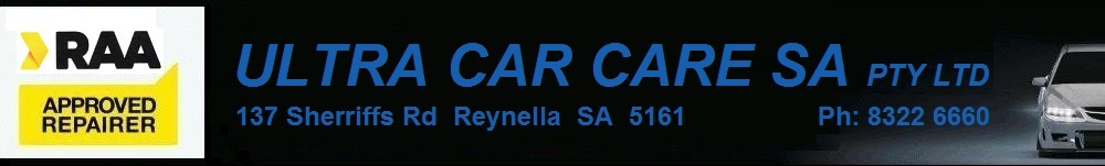Ultra Car Care Header